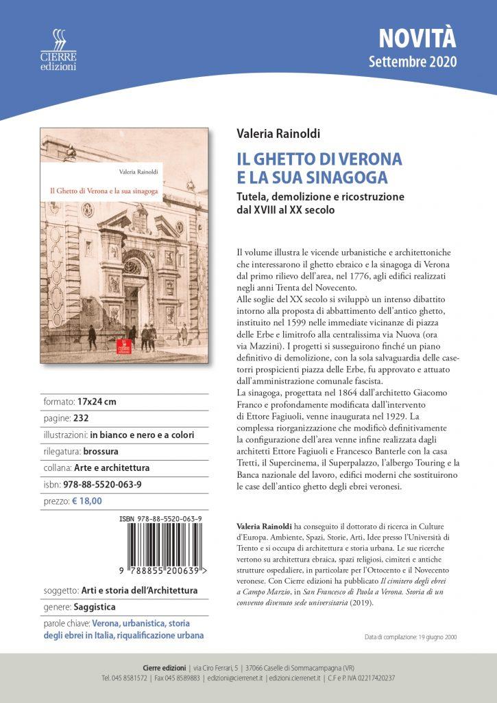 9788855200639 Il Ghetto Di Verona Page 0001